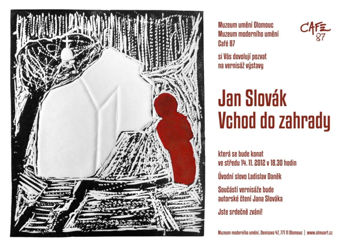 Jan Slovak Vchod Do Zahrady Tisky A Jedna Kresba Muzeum Umeni