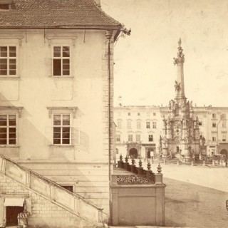 Olomouc in the photographic collection of the Museum of Art