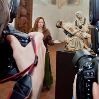 PHOTO: Press conference for exhibitions Křiváks Pieta and New and everlasting Covenant