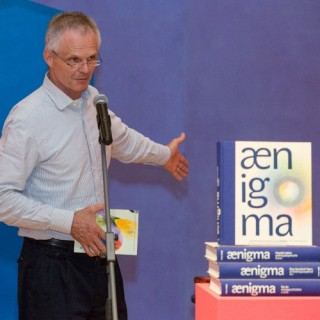 PHOTO: We introduced the book Aenigma