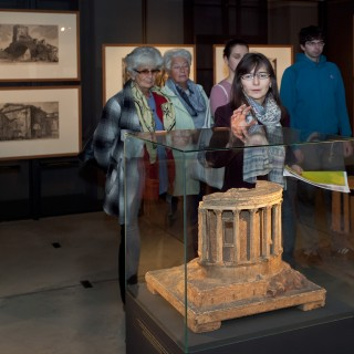 PHOTO: Guided tour of the exhibition Piranesi