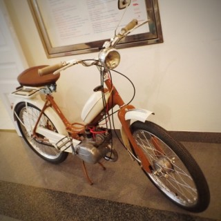 Designe exhibition adds moped and TV