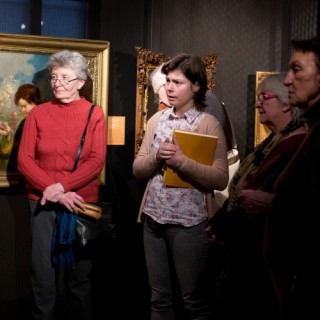 Guided tour: interest in naturalism and social topics
