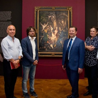 Mayor and councilors took advantage of the last opportunity to see El Greco