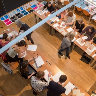 American Students Created Artists' Books in the Museum