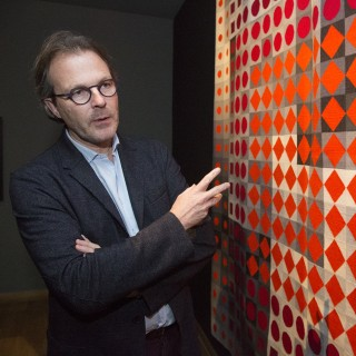 MUO prepares Vasarelys exhibition on Hluboká with his grandson