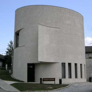 Architeck Marek jan Štěpán look to new church in Sazovice