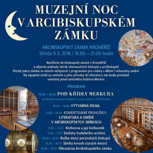 Museum Night in the Archbishop Chateau Kroměříž | Under the wings of Mercury