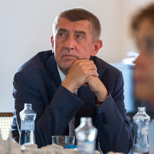 Prime Minister Andrej Babis visited the Museum of Art