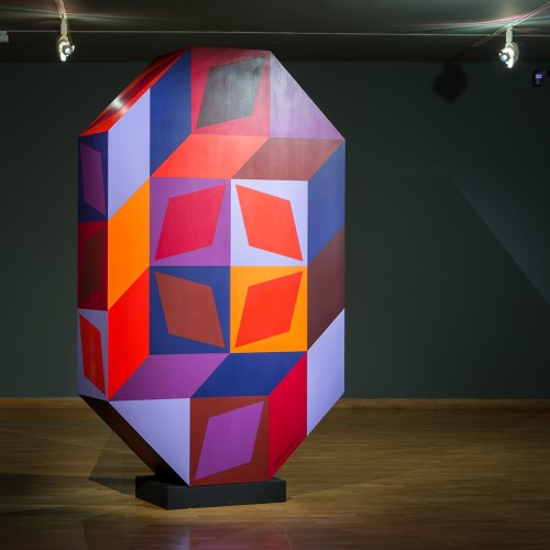 The Museum of Art will introduce a new acquisition - Vasarelys great plastic