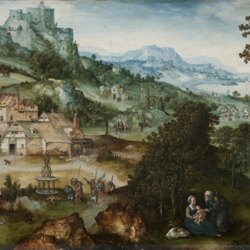 WEDNESDAY WITH EXPERTS | Follower Joachim Patinier, Landscape with Escape to Egypt