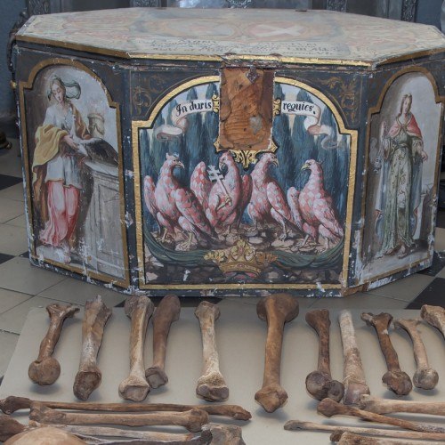 The Archdiocesan Museum will show by the burial boxes of Olomouc Přemyslids