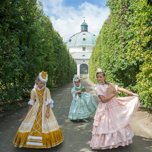 Hortus Magicus returned the Kromeriz Flower Garden back to the Baroque