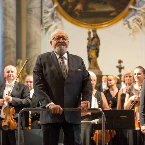 The Years of Disarray exhibition 1908-1928 opened a spectacular concert by Krzysztof PendereckI