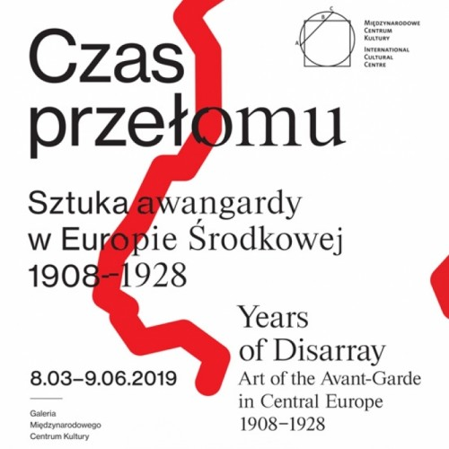 Today begins the Polish part of the exhibition Years of Disarray